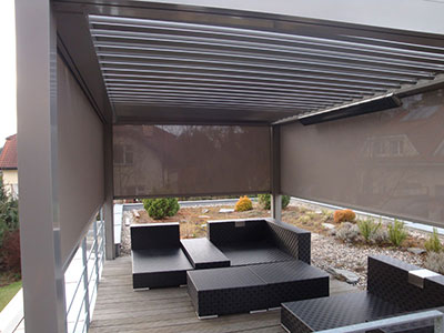 Skl�p�c� pergola B-200 XL + screeny