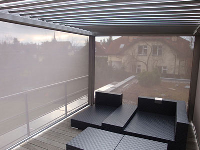 Sklápěcí pergola B-200 XL + screeny